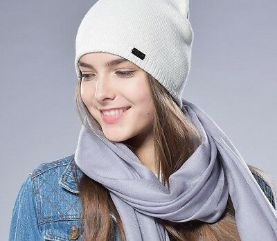 2dd1194b3f8da Women s Autumn Winter Watch Cap Wool Knit Beanie Acrylic Braided Hats For  Ladies