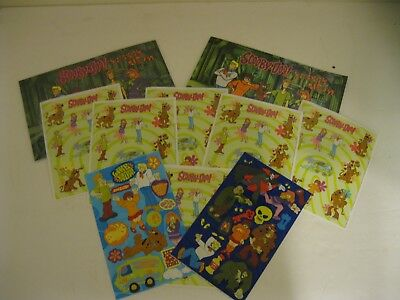 2 Scooby Doo Sticker Albums By Sandylion Desings - 1 New - 1 Opened