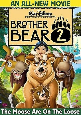 Brother Bear 2 The Moose Are On The Loose (DVD) SHIPS NEXT DAY Walt Disney Movie