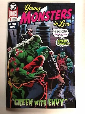 Young Monsters In Love #1 80 Page Giant 1St Print Dc Comics (2018) Swamp Thing