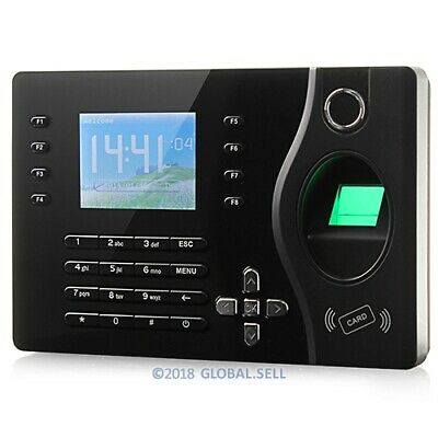 Fingerprint And RFID Card Attendance Time Clock With PC Software+TCP/IP+USB
