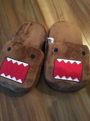 Authentic Domo Kun Plush Slippers Brand New With Tags  Free Postage Japanese 40