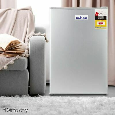 70L Portable Mini Bar Fridge Drinks Refrigerator Cooler Chiller Glacio Silver