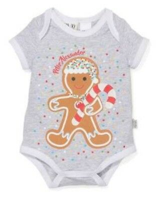 Peter Alexander Baby One piece Christmas Ginger Bread BNWT - Size 0000