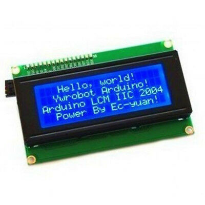 LCD Module Display Circuit Connection Controller Switch Blue Serial IIC/I2C/TWI