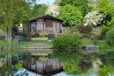 Holiday Lodge with Private Fishing Waveney Valley Lakes Norfolk