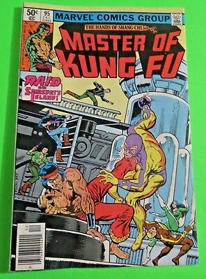 Master of Kung-Fu #95 Marvel Comics Bronze Age (1980) C2584