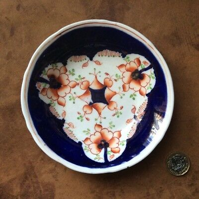 Antique Gaudy Welsh Saucer,bowl. C1820. Perfect.