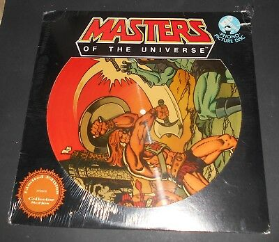 Masters of the Universe Schallplatte PICTURE LP RECORD Mattel 1983 Limited B