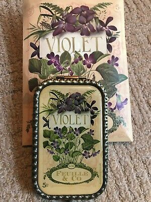 Violet Feuille & Co Compact Mirror