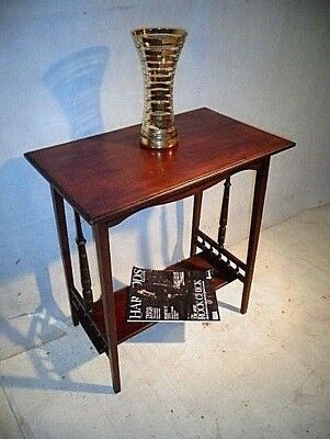 ANTIQUE VICTORIAN MAHOGANY LAMP TABLE c1880-1900 SOFA TABLE END TABLE HALL TABLE