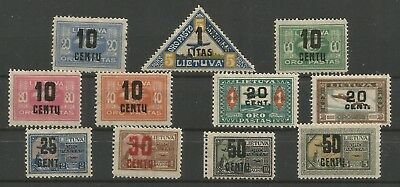 Lithuania,Lot 4*,mh