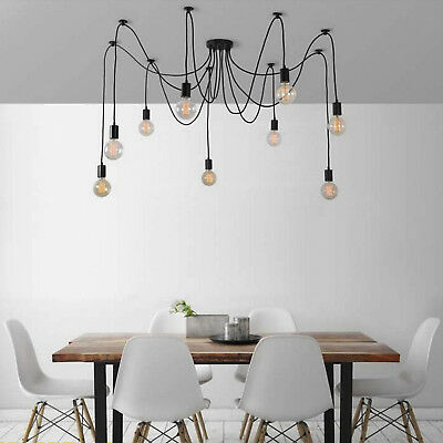 12 Heads Spider Pendant Lighting Loft Ceiling Chandelier