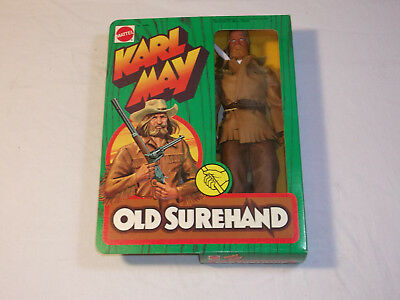 Old Surehand 9498 MIB Karl May Mattel originalverpackt Big Jim