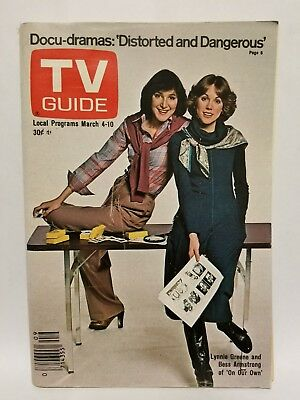 Vintage TV Guide 1978 March 4 Lynnie Greene & Bess Armstrong of On Our Own
