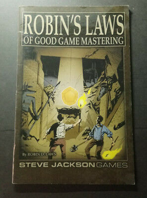 Robin's Laws of Good Game Mastering | Robin D. Laws | Steve Jackson Games
