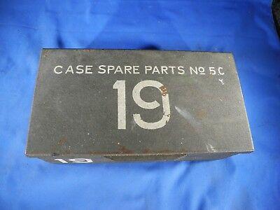Vintage Military Surplus Wireless Radio 19. Spare Parts Case No. 5C