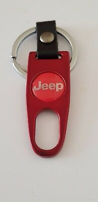 JEEP GREY Keyring Keychain Spanner Chrome 4 colours Ideal Extra Cherokee Compass