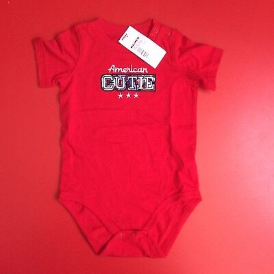 American Cutie baby grow for 18 months old, red, from USA, America