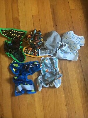 Lot Of Cloth Diaper Covers.