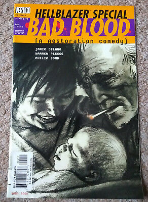 HELLBLAZER SPECIAL: BAD BLOOD # 4 (2000) DC COMICS (VFN Condition)