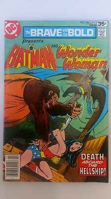 BRAVE and the BOLD 140 (1978)  VF+ BATMAN & WONDER WOMAN