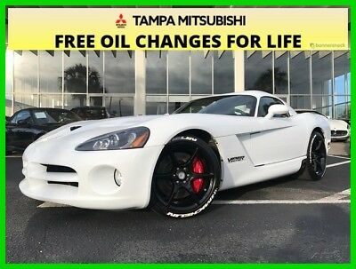 Dodge Viper SRT10 ~~ LOW MILES ~~ COUPE ~~ 8.4 LTR ~~ V-10 ~~ HORSEPOWER 2009 SRT10 Used 8.4L V10 20V Manual RWD Coupe Premium