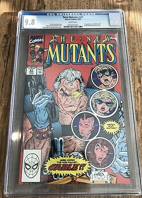 The New Mutants #87 (Mar 1990, Marvel) CGC 9.8 White Pages 1st Cable NR