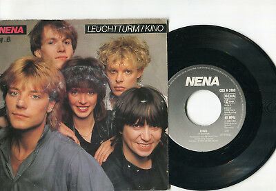 "NENA "" Leuchtturm / Kino "" 7 Inch Single 1983"