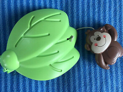 Fisher Price Luv U Zoo Jumperoo Hanging Monkey Toy Replacement Part
