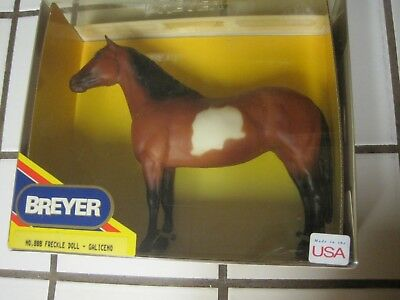 Breyer Classic No. 888 Model Horse-Freckle Doll-Galiceno