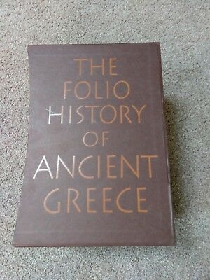 The Folio History of Ancient Greece - 4 Volumes - Folio Society 2002