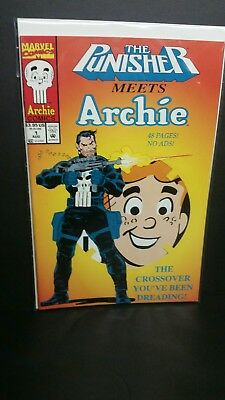 The Punisher Meets Archie #1 (Aug 1994, Marvel)
