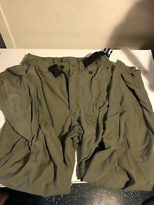 Boy Scouts of America Switchback Uniform Pants Youth Large Green Cargo Zip Off