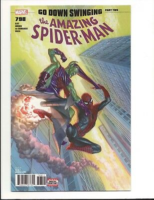 Amazing Spider-Man #798 Go Down Swinging Part 2 1st Red Goblin Alex Ross Cover F