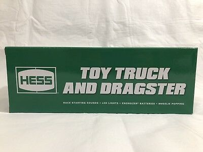 HESS Toy Truck and Dragster 2016 NIB