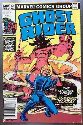 Ghost Rider #68 FN/VF Cond May 1981 Origin Retold