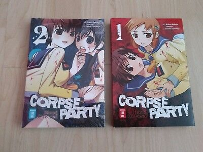 Manga Corpse Party Blood Covered 1 & 2 NEU OVP