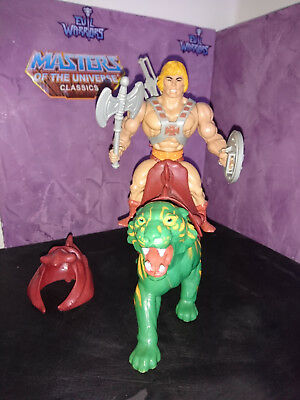 Masters of the Universe He Man + Battle Cat Vintage Top !!!