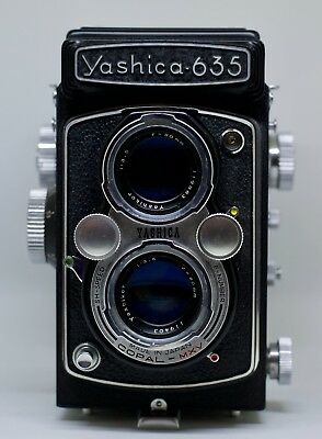Yashica 635 Twin Lens Reflex Camera 120 Medium Format