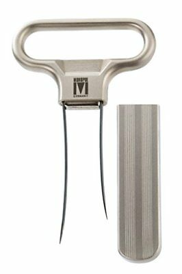 Monopol Westmark Germany Steel Two-Prong Cork Puller with Cover Silver Satin