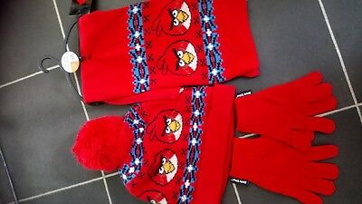 Boys Next knitted hat scarf & glove set Age 7- 10