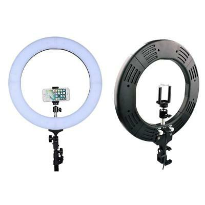 12 Inch Ring Light LED Diva Ring Light Bi Color Photo Video 35W 180 Pieces LED S