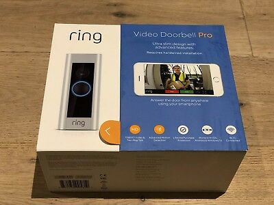 Ring Video Doorbell Pro Kit 1080p HD with Ring Smart Chime and Transformer
