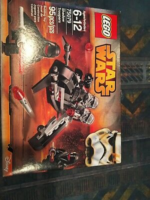 New Lego Star Wars Shadow Troopers 75079 Factory Sealed