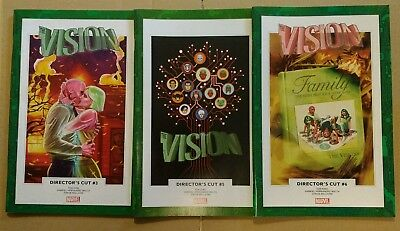 Vision Director's Cut x 3 Issues #3 #5 #6 Marvel Comics From Avengers