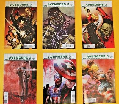 Ultimate Avengers 3 - complete 6 issue limited series