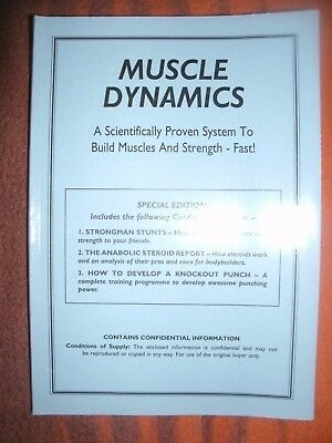 Muscle Dynamics Book Out of Print