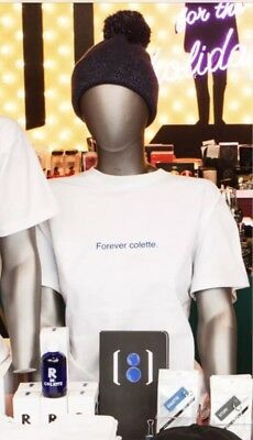 BNWT!!! Forever COLETTE Paris T-Shirt White Sold Out XL Collector Edition FAMT