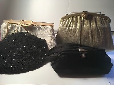 Three Ladies' Purses, Three Compacts and An Asyut Change Purse